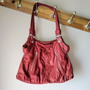 ELLE red handbag
